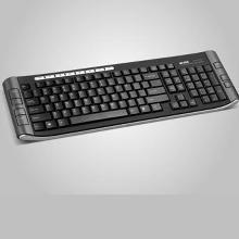 Acme Multimedia Keyboard KM01 Silver, LT/RUS/EN, USB, SLIM, 15 Multimedia, Internet, System Hot keys