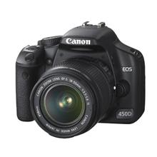 Canon EOS 450D 18-55 IS kit/ 12.2 MP/ 3.5fps/ 9-point wide-area AF/ EOS Integrated Cleaning System/ 3.0ā€¯ LCD with Live View/ DIGIC III/ Viewfinder/ Total image control