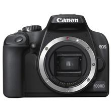 Canon EOS 1000D EF-S 18-55 kit, 10.1Mpixel/ 3 fps/ DIGIC III/ 7-point wide-area AF/ 2.5ā€¯ LCD with Live view/ Self-Cleaning Image Sensor/ SD/SDHC card slot/ Li-ion Batt.