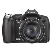 Canon PowerShot SX1 IS, 10.0 Mpixel/ 20x optical zoom/ Optical IS/ Full HD movies/ DIGIC 4/ 2.8ā€¯ LCD/ 4fps/ RAW/ Face Detection/ Anti-blur/ PictBridge/ HDMI/ 4x Size-AA Alkaline or NiMH Batt