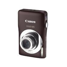 "Canon Digital IXUS 105 Brown, 12.1Mpixel/ 28mm wide/ 4x optical zoom/ Optical IS/ 2.7"" PureColor LCD II/ Smart Auto/ Smart Flash Exposure/ Face & Motion Detection/ DIGIC 4/ Li-ion Batt."
